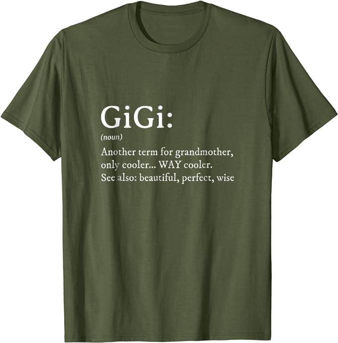 Gigi Shirt Announcement Shirt Grandma Shirt Gift For Grandma Grandma Tshirt Gigi I/'ll be there for you Friends Show Shirt Gigi Tshirt
