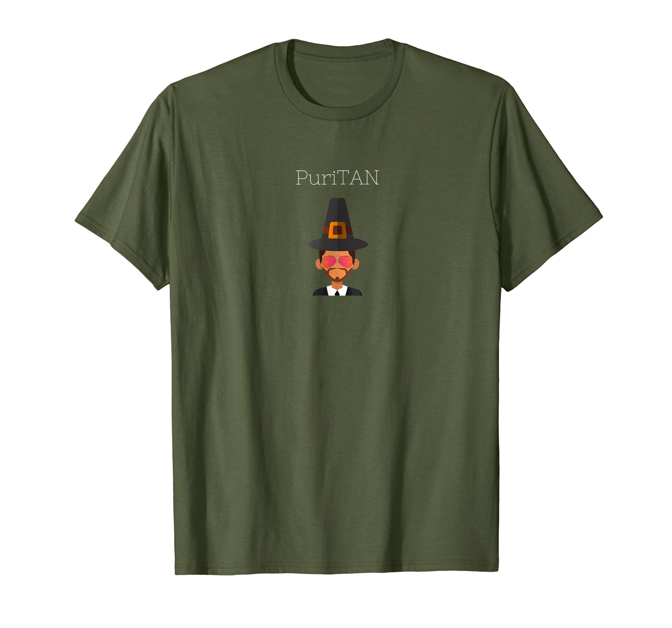 Amazon Thanksgiving Shirt Tan Puritan Clothing