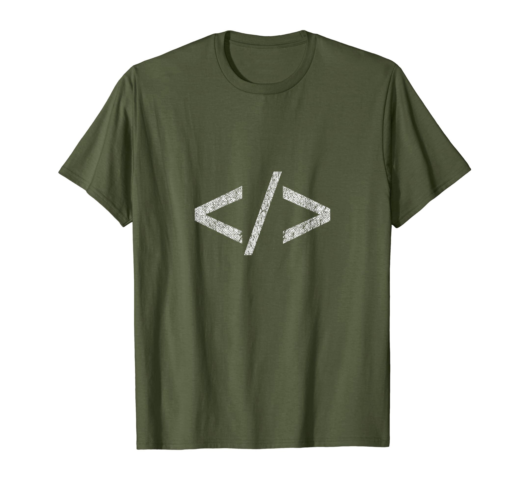 Amazon Minimal Html Tag T Shirt Web Designer Tee Shirts Clothing