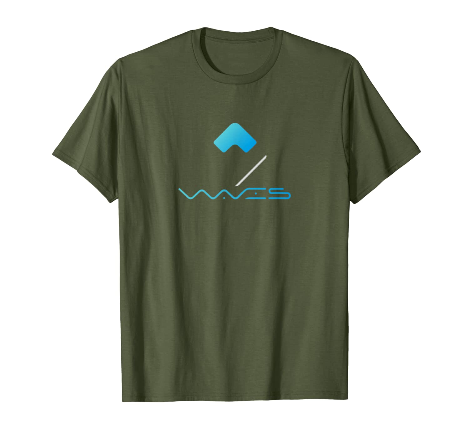 Amazon com: Waves Platform Coin T-Shirt by Crypto Tees: Clothing