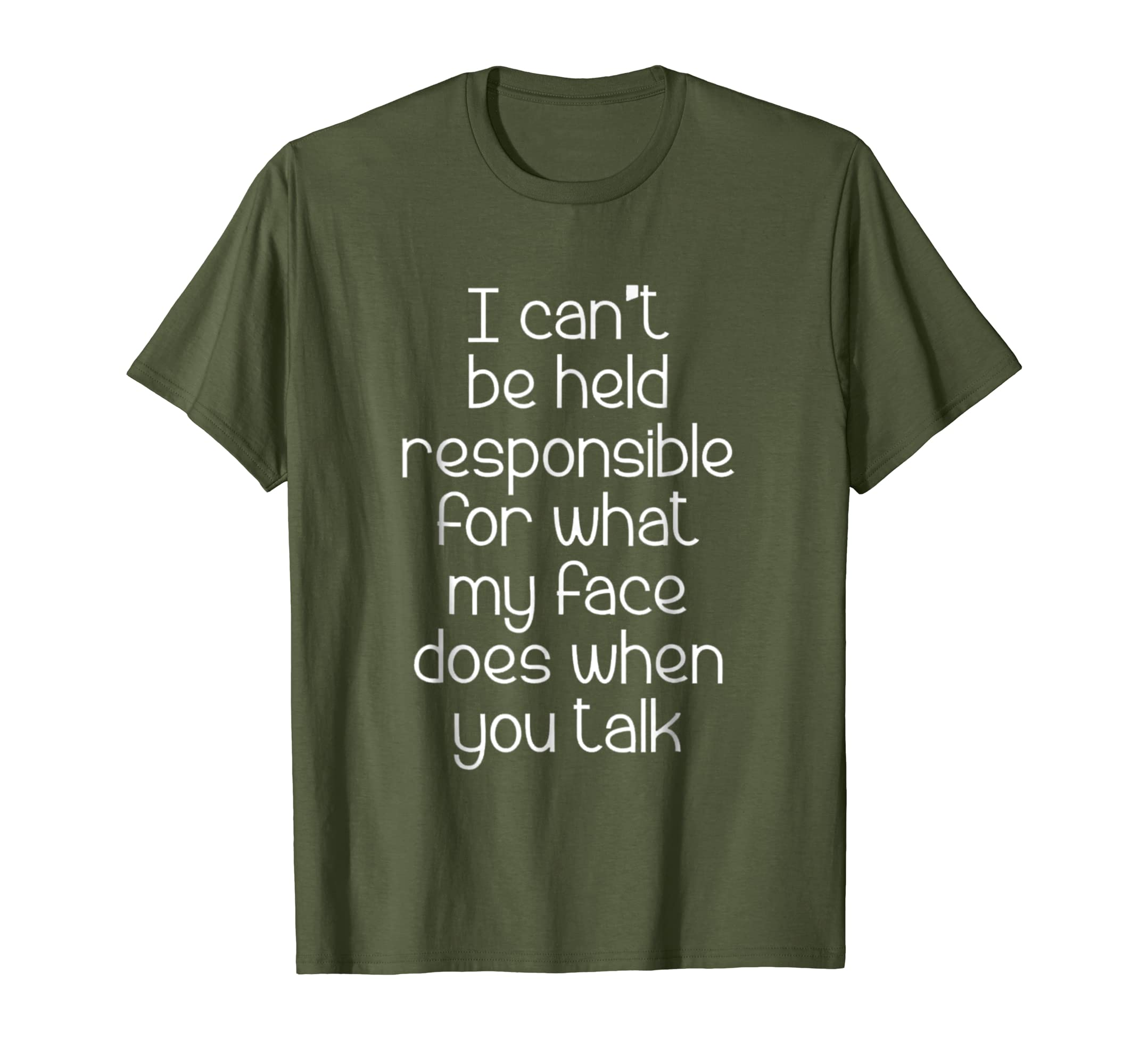 I Can't Be Held Responsible T-Shirt funny saying sarcastic-fa