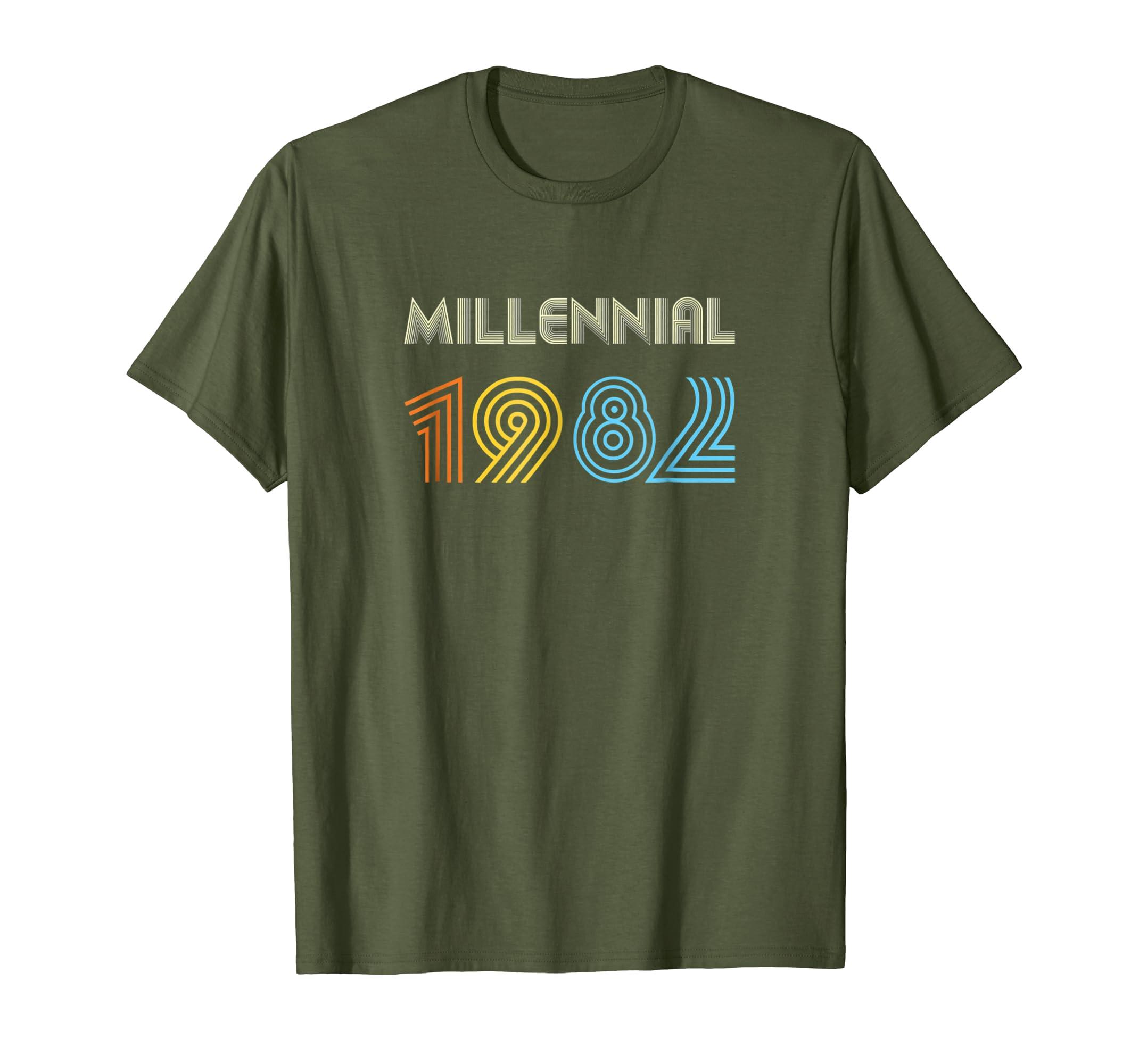Xeire Millennial Born in 1982 Birthday Gift Shirt-SFL