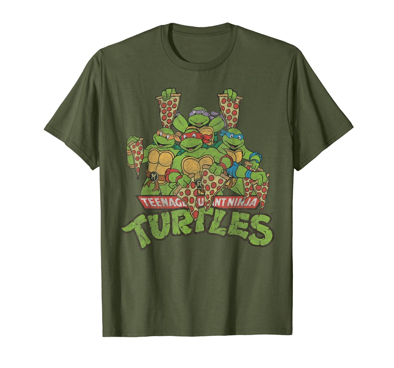 Teenage Mutant Ninja Turtles Multiple Smiles & Slices Tee-Loveshirt