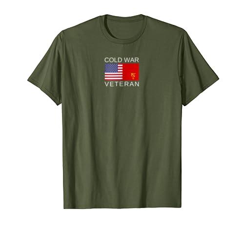 Cold War Veteran T-Shirt USA USSR by Earn Your Sleep