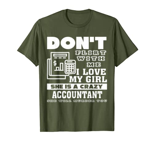 Accountant Shirt – My Girl Love Accountant T Shirt