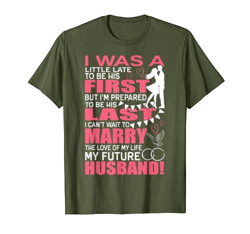 Amazoncom The Love Of My Life T Shirt My Future Husband T Shirt