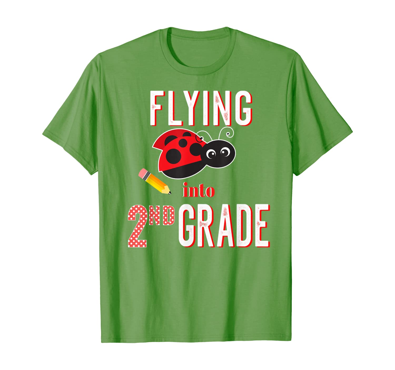 2nd Grade Back To School Funny Ladybug T-Shirt-Yolotee