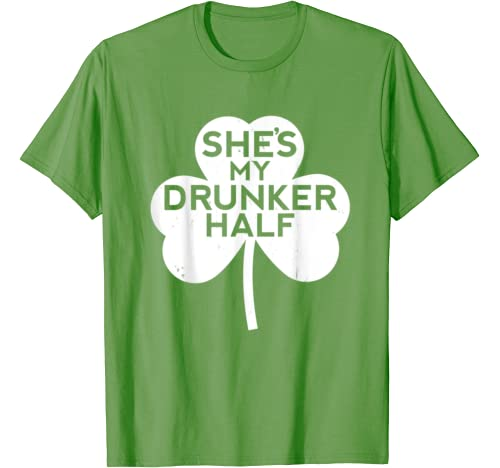Funny St Pattys Day Patricks Irish Beer Women Drunker Twin T Shirt
