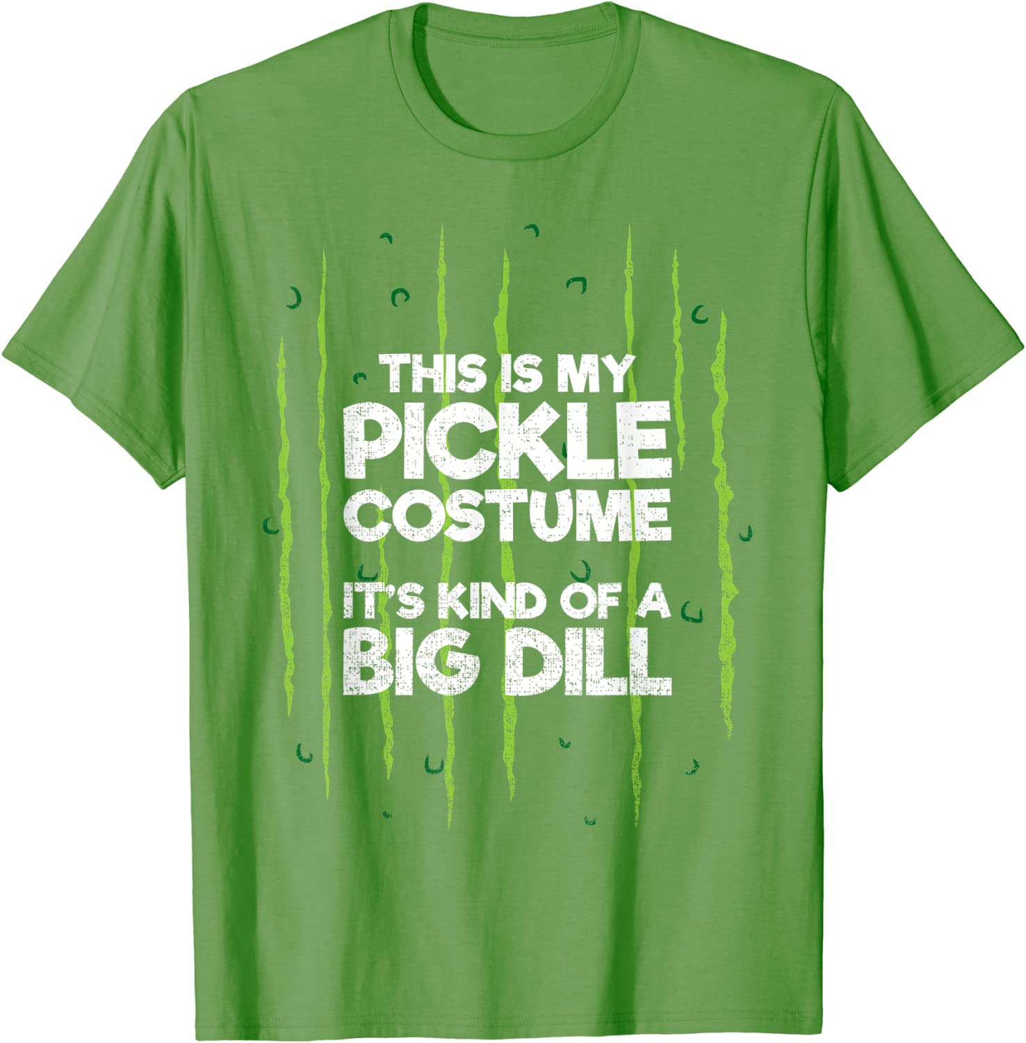 This Is My Pickle Costume Dill Halloween Food Lazy Costume T-Shirt