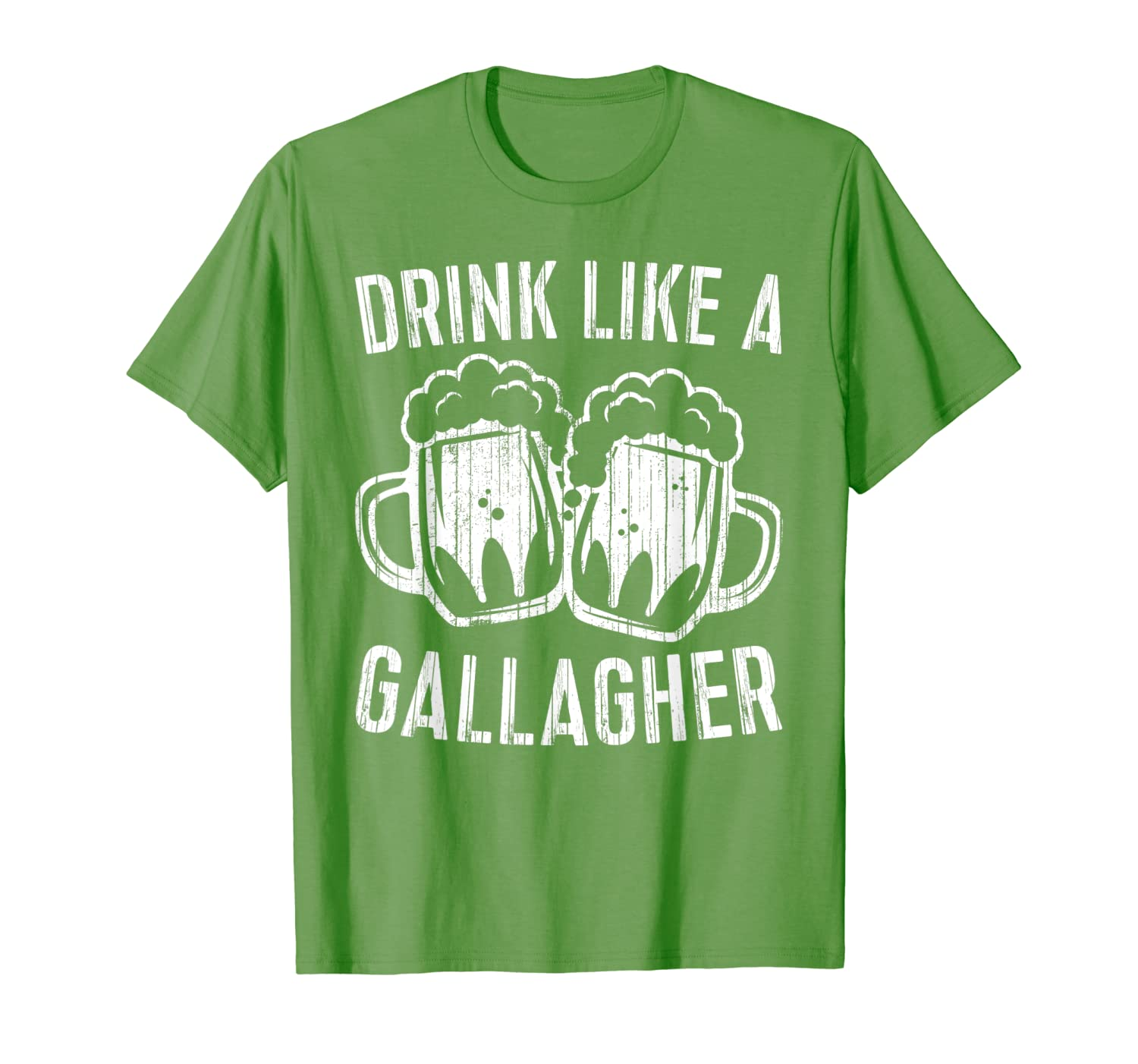 Drink Like A Gallagher T Shirt Saint Patrick Day Gift