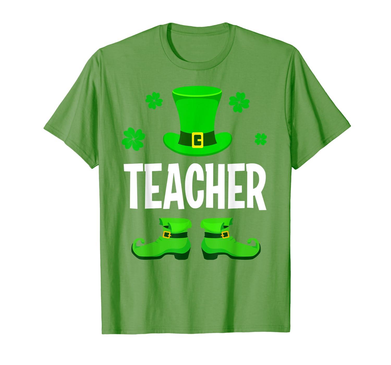 Leprechaun Teacher Matching Group St Patrick's Day Gifts T-Shirt-Colonhue