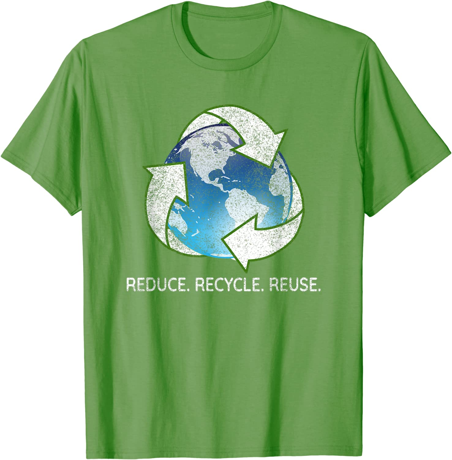 Reduce Recycle Reuse vintage save the planet T-Shirt