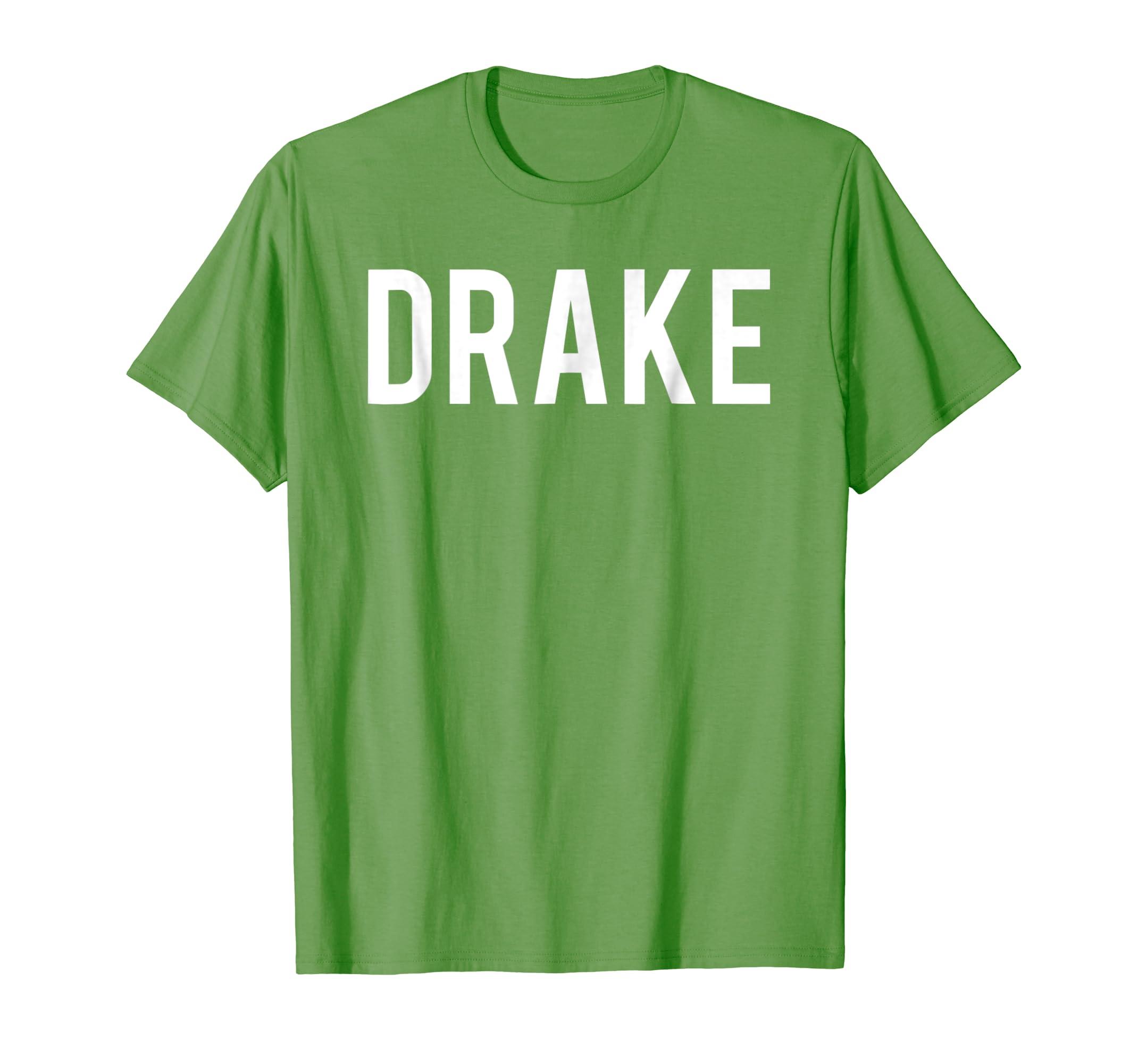 01ddf946cd3 Amazon.com  Drake T Shirt - Cool new funny name fan cheap gift tee  Clothing