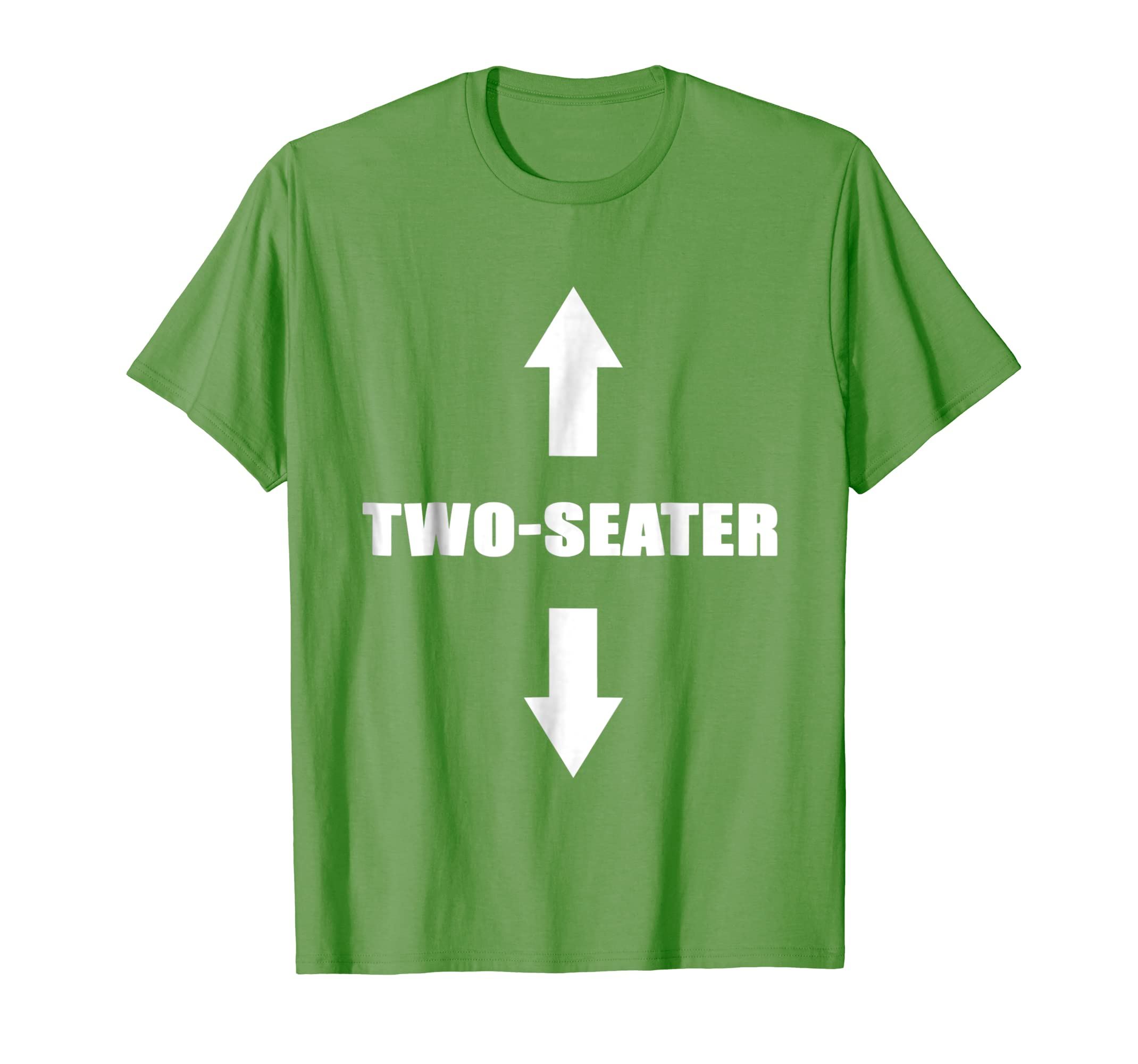 Two Seater T-Shirt  Funny Gag Gift Dad Joke Tee-Newstyleth