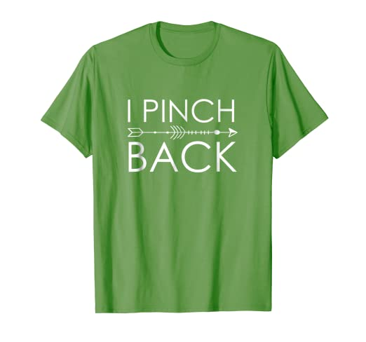 4da03a8d1 Image Unavailable. Image not available for. Color: I Pinch Back Shirt Kids    St Patricks Day Funny Shirt