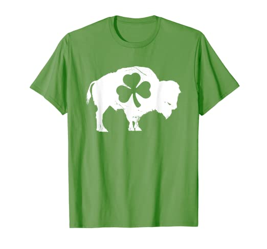 61d9fa984 Image Unavailable. Image not available for. Color: Buffalo St. Patrick's  Day T-Shirt Western New York