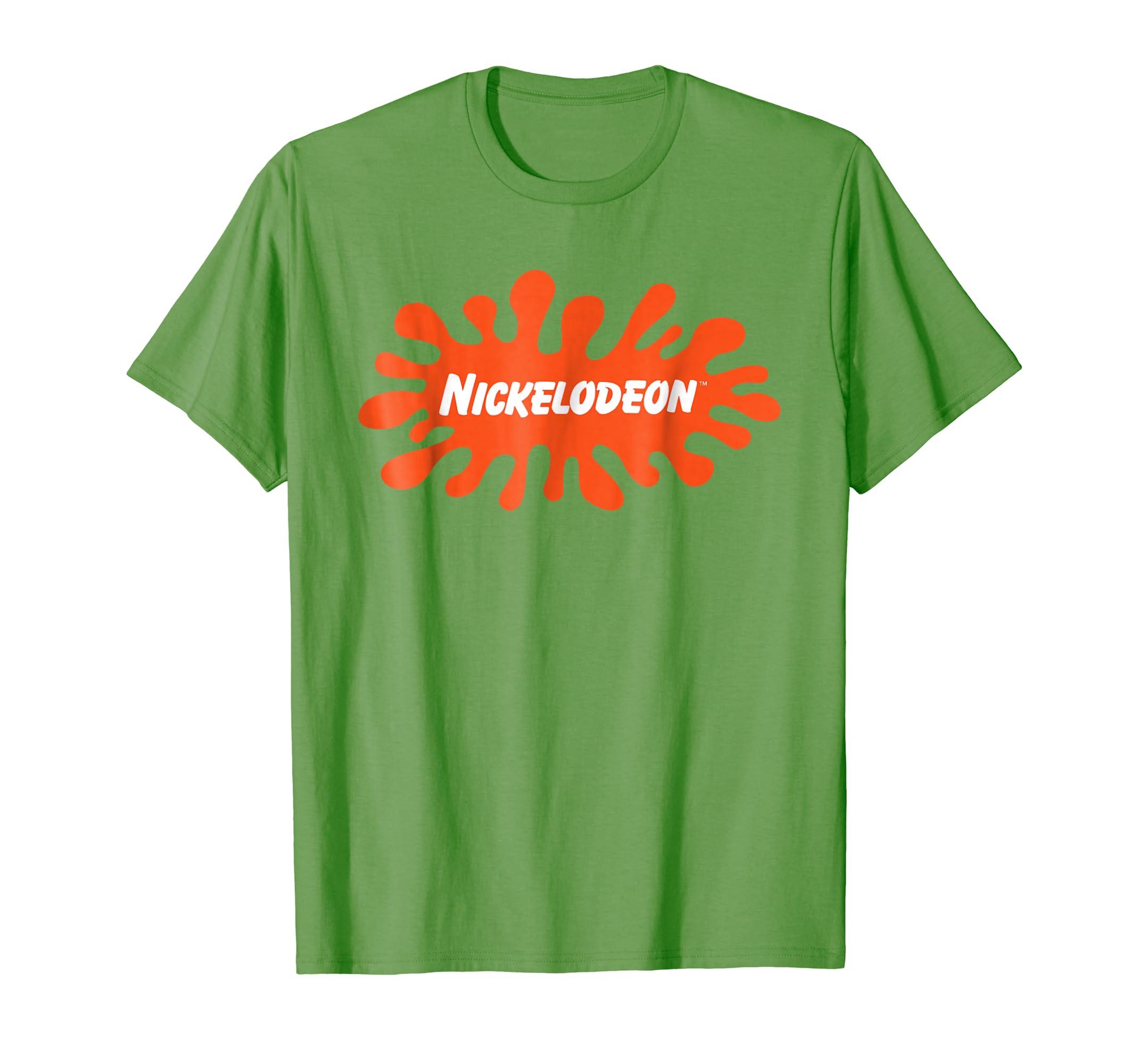 9f3a97f9e Amazon.com: Nickelodeon Splat Logo T-Shirt: Clothing