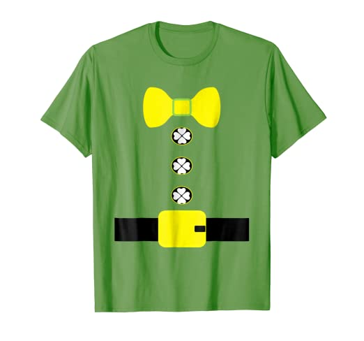 f5fdf1acb7d Amazon.com  Leprechaun Costume T Shirt-Shamrock St Patricks Day ...