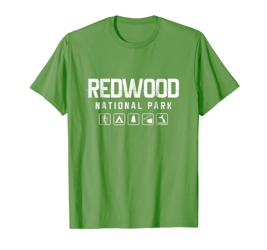 7cd137731 Image Unavailable. Image not available for. Color: Redwood National Park  Outdoor T-shirt