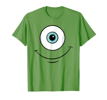 d1ed6d03 Image Unavailable. Image not available for. Color: Disney Monsters Inc.  Mike Eye Halloween Graphic T-Shirt