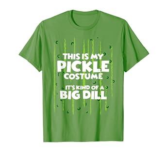 ca59a6e200 Pickle Halloween Costume Shirt Easy Funny Women Men Kids