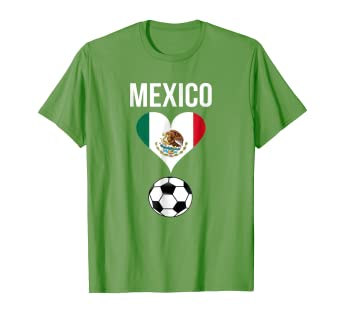 3db213463 Image Unavailable. Image not available for. Color: Mexican Jersey Shirts- Mexico Loves Soccer- Flag-T Shirt