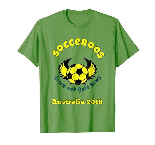 c6d17c0bd Amazon.com  Socceroos Australian fan supporter T Shirt  Clothing