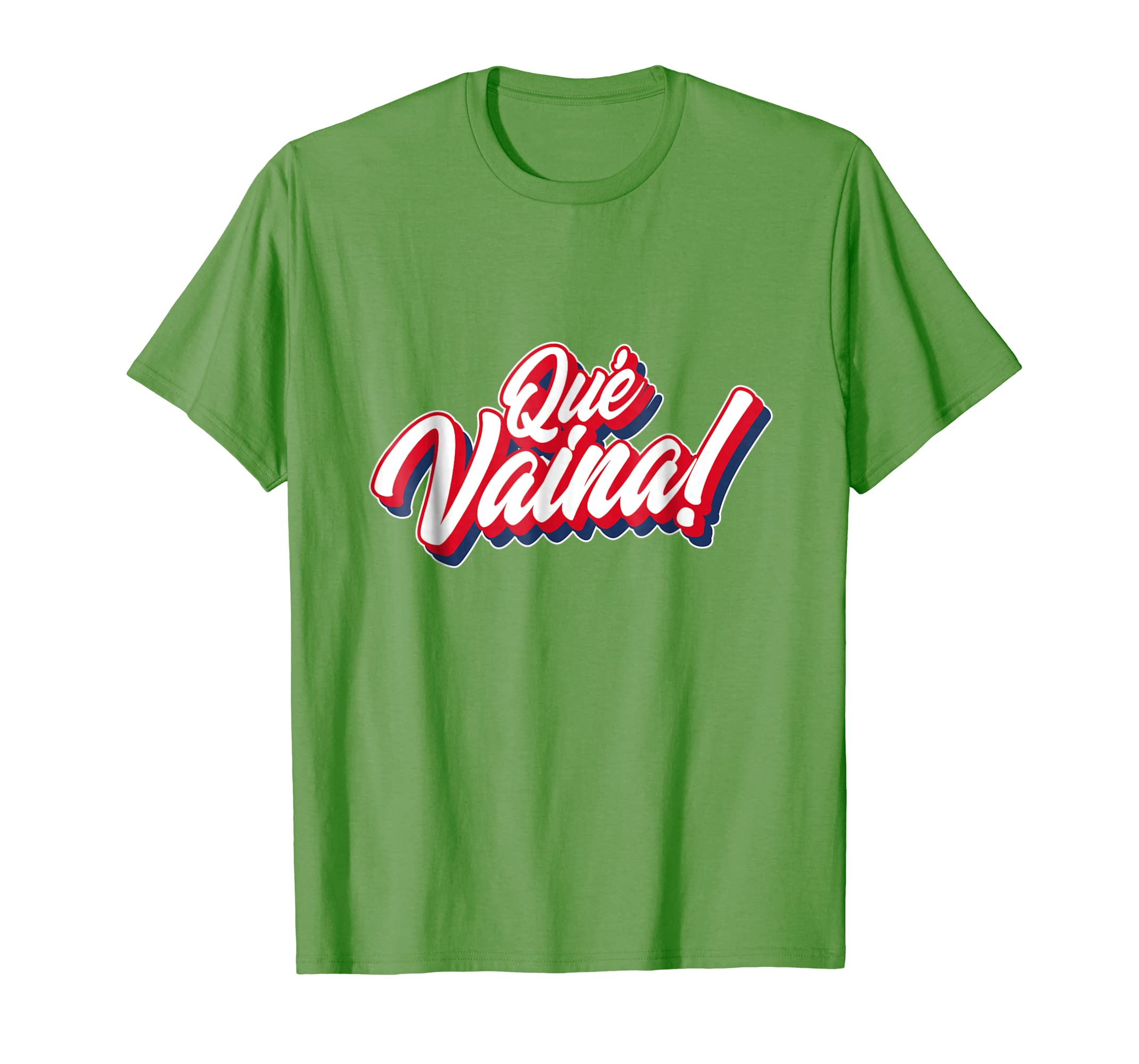 f94662e9 Amazon.com: Dominican Republic Que Vaina Travel Souvenir T-Shirt: Clothing