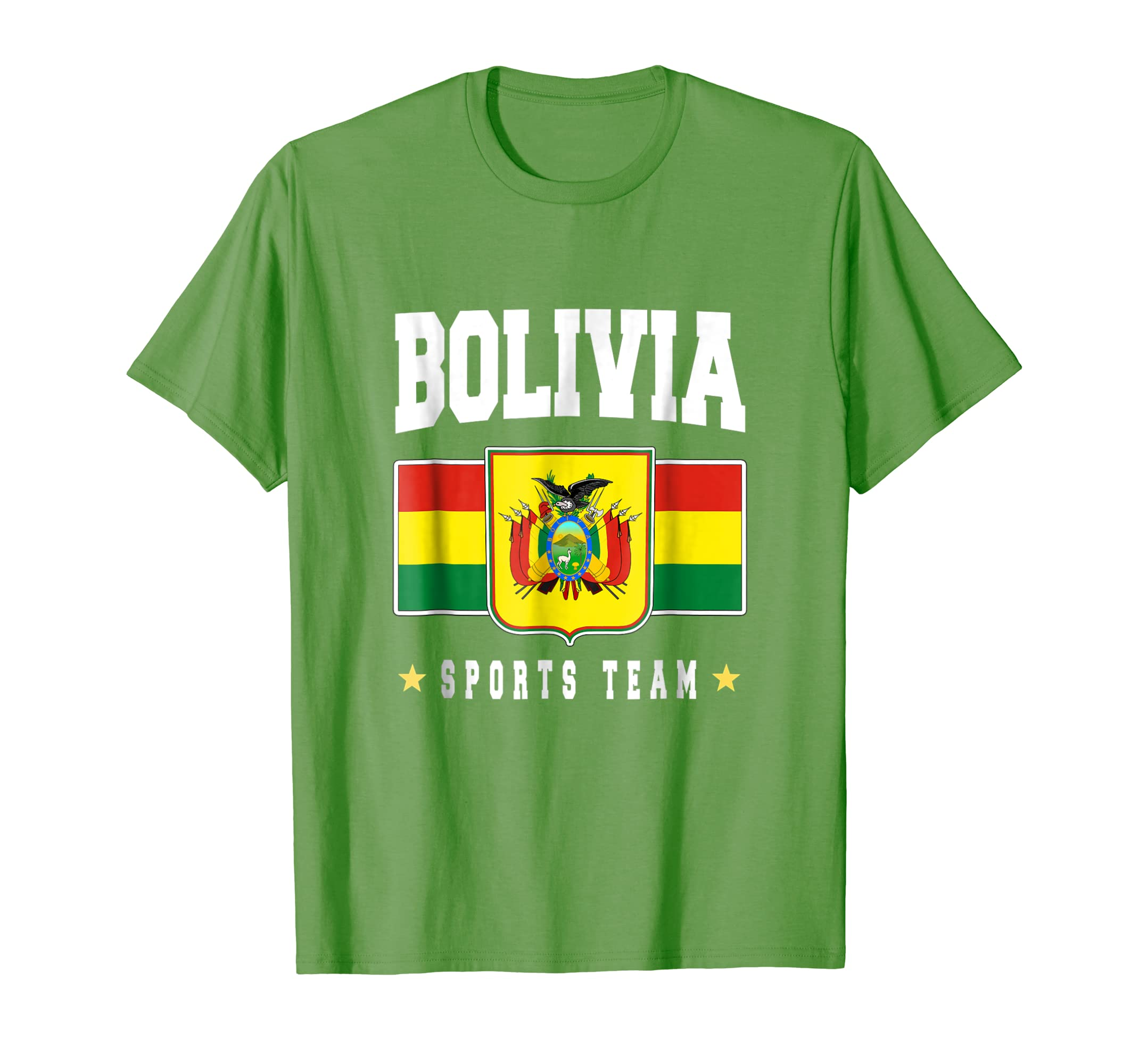 c2535009c4b Amazon.com: Bolivia T-shirt Bolivian Flag Soccer Futbol Fan Jersey: Clothing