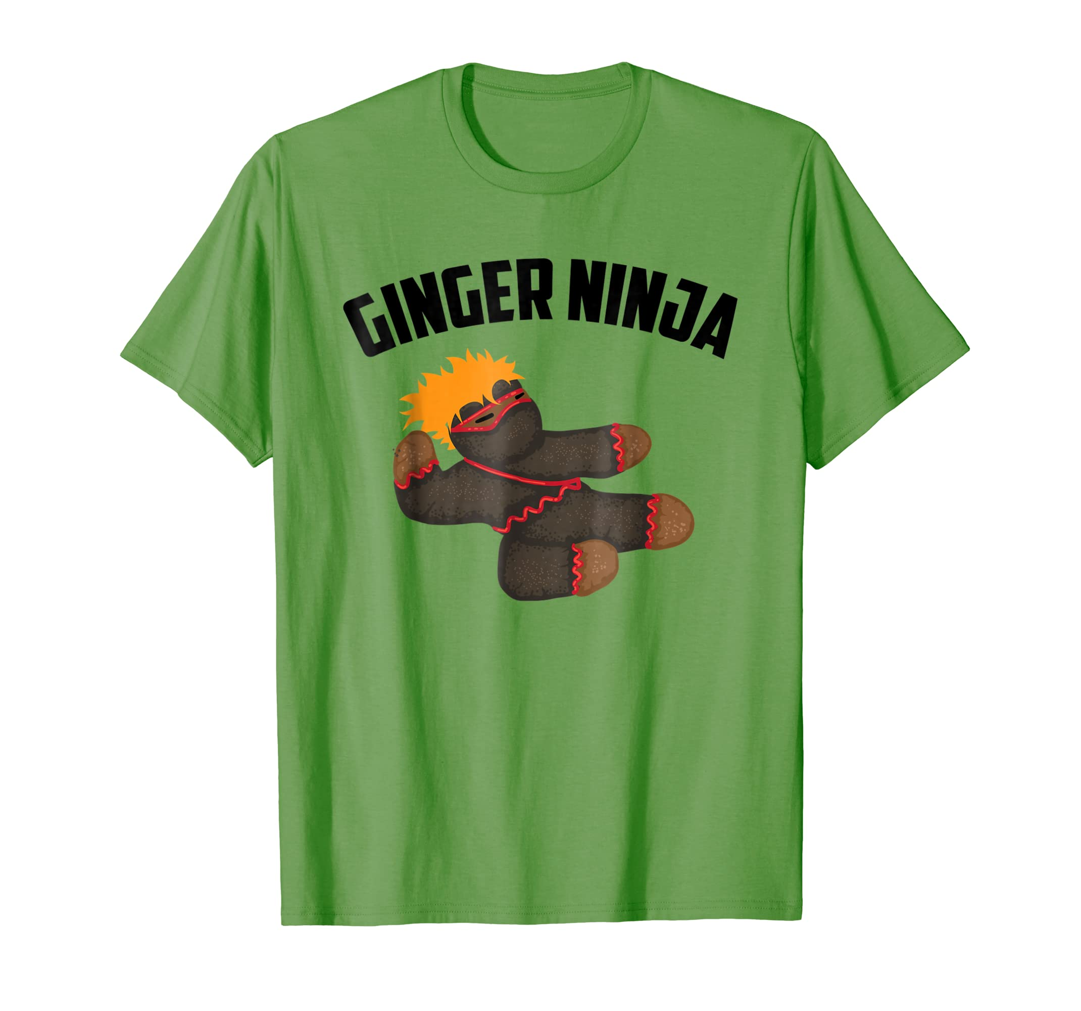 Amazon.com: Ginger Ninja Shirt | Cute Red And Orange Ninja ...