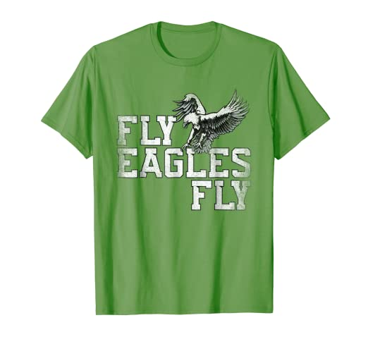 Image Unavailable. Image not available for. Color  Fly Eagles Fly T Shirt  ... 8bc2909bc