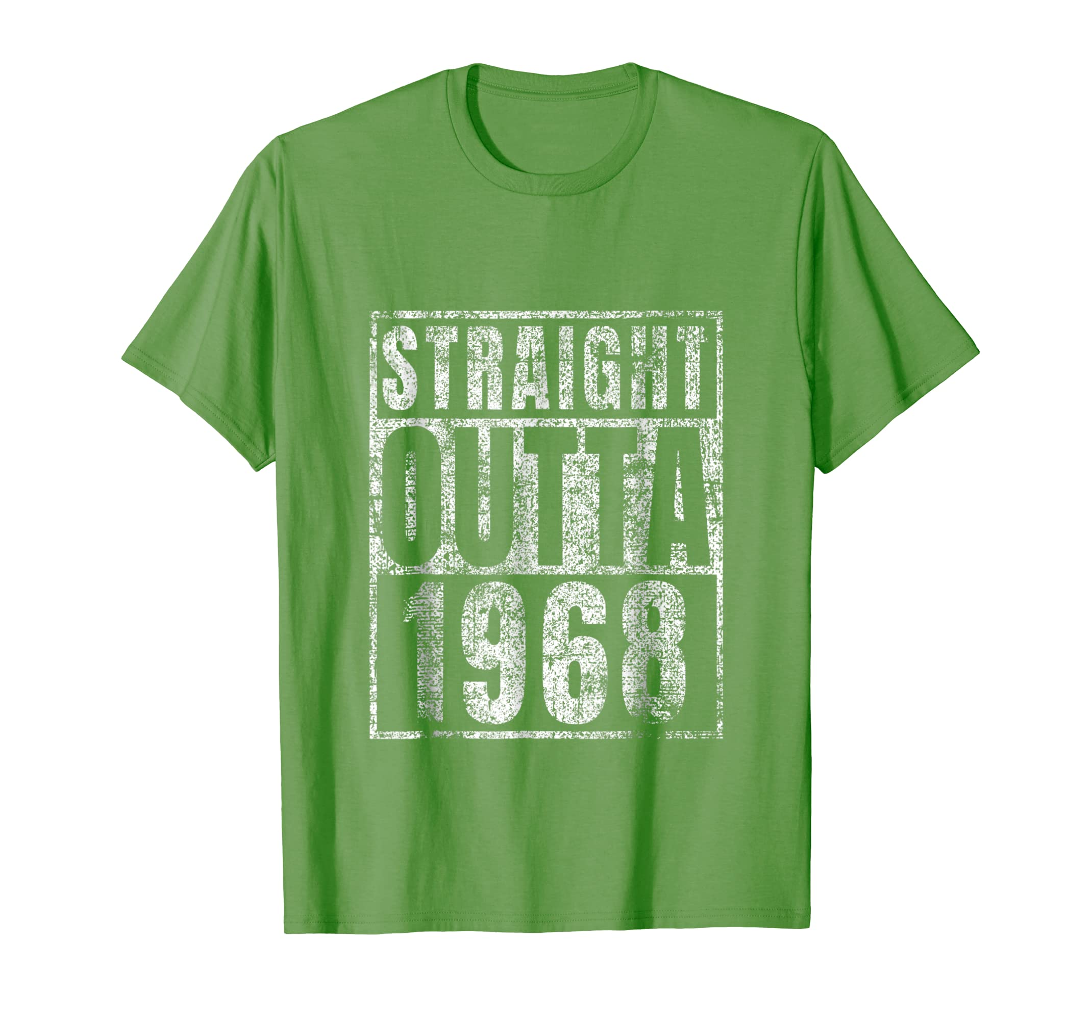 Straight Outta 1968 T Shirt 50th Birthday Gift Men Him Funny Colonhue