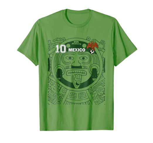 Image Unavailable. Image not available for. Color  MEXICO SOCCER JERSEY  SHIRT WORLD AZTEC FLAG 7b4b29a8b