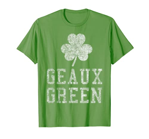 New Orleans St Patrick's Day T Shirt - Geaux Green