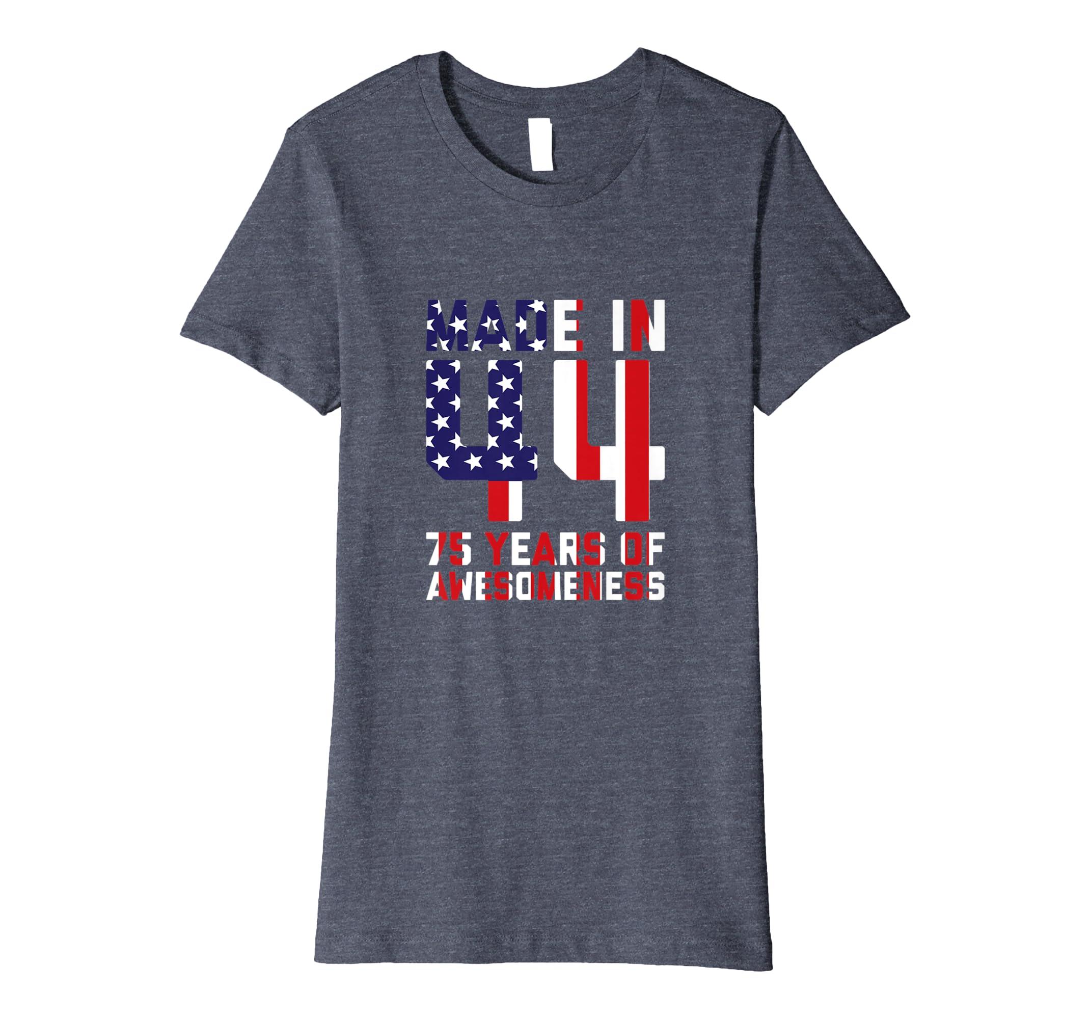 Amazon 75th Birthday Tshirt For Men Gifts 75 Year Old Grandpa Dad Clothing