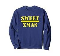 Sweet Xmas Love Harlem Shirts Sweatshirt Navy