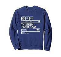 Handling Info Quaranteen Teenager 13 Birthday Gift T-shirt Sweatshirt Navy