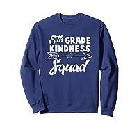 Tea Team Shirt - 5th Grade Kindness Squad Gift Sweatshirt Navy