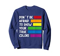 Queer Same Love Lgbtq Lgbt Funny Pride Parade Rainbow Shirt Sweatshirt Navy