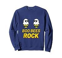 Boo Bees Couples Halloween Costume For Bee Boobs Bra Tank Top Shirts Sweatshirt Navy