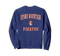 Stone Mountain High School Pirates Shirts Sweatshirt Navy