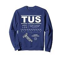 Tucson International Airport Arizona Tus T-shirt Sweatshirt Navy