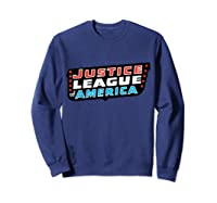 Justice League Logo Jla Classic 01 Shirts Sweatshirt Navy