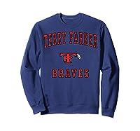 Terry Parker High School Braves T-shirt Sweatshirt Navy