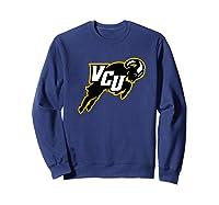 Virginia Commonwealth University Rams Vcu Ppvcu07 Shirts Sweatshirt Navy
