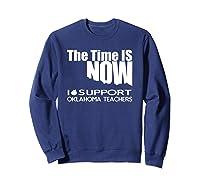 Oklahoma Tea Shirt - Protest Tee For Walkout Sweatshirt Navy