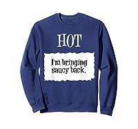Hot Taco Sauce Halloween Packet Costume T-shirt Sweatshirt Navy