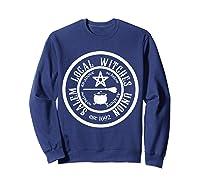 Salem Local Witches Union Est 1692 Halloween Shirts Sweatshirt Navy