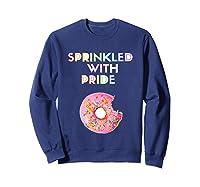Sprinkled With Pride Foodie Shirts Sweatshirt Navy