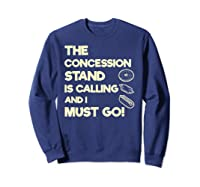 Baseball Softball Funny Sister Brother T-shirt Sweatshirt Navy